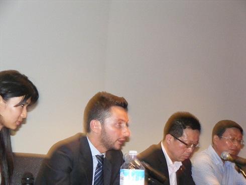 Sindacoe capo delegazione cinese